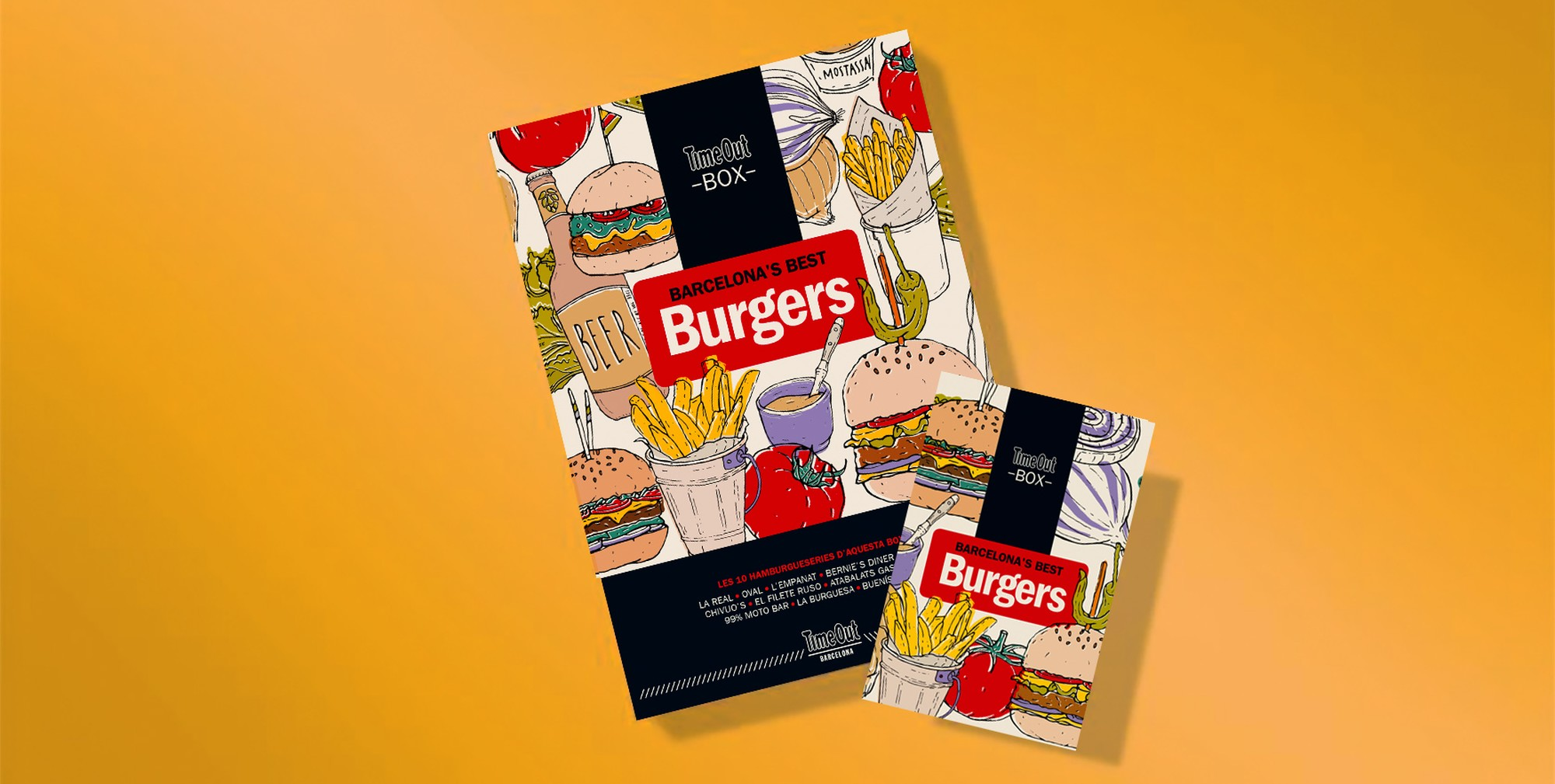 Time Out Box | Burgers 50%